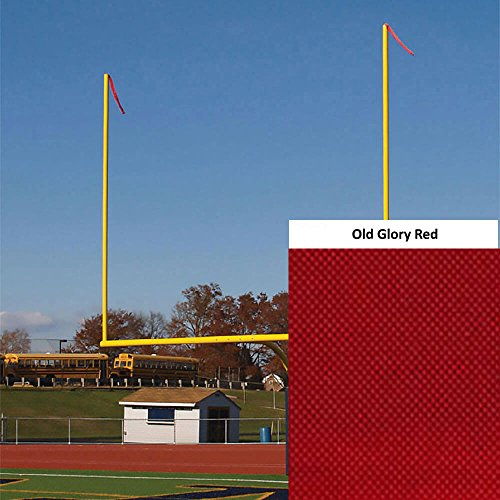 Goal Post Wind Direction Streamers - Old Glory Red (40 in. x 4 in.)
