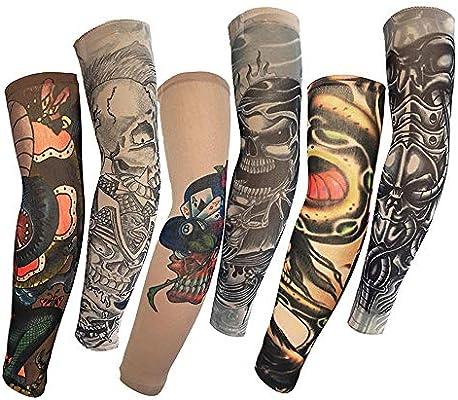 Liushop.co Nuevo Tatuaje Temporal 6 Unids Patrón De Calavera ...