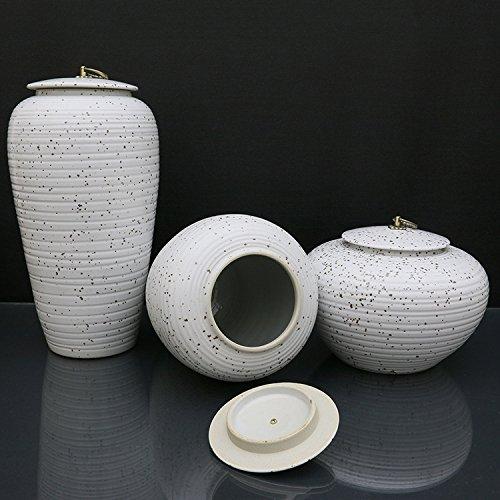 (Set of 3pcs )Tea can household storage tank ceramic Ornaments