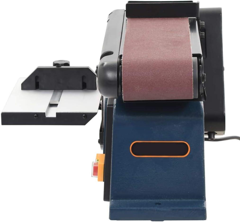 Bandschleifer Elektroschleifmaschine Schleiftellers 150 mm Festnight Elektrischer Band- und Tellerschleifer 370 W 230-240 V 2980 U//min