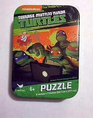 Teenage Mutant Ninja Turtle 50 Piece Jigsaw Puzzle in Travel Tin