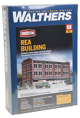 (Walthers Cornerstone Series Kit HO Scale Railway Express Agency (REA) Transfer Building )