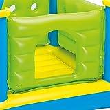 "Intex Jr. Jump-O-Lene Castle Inflatable Bouncer, 52"" X 52"" X 42"", for Ages 3-6"