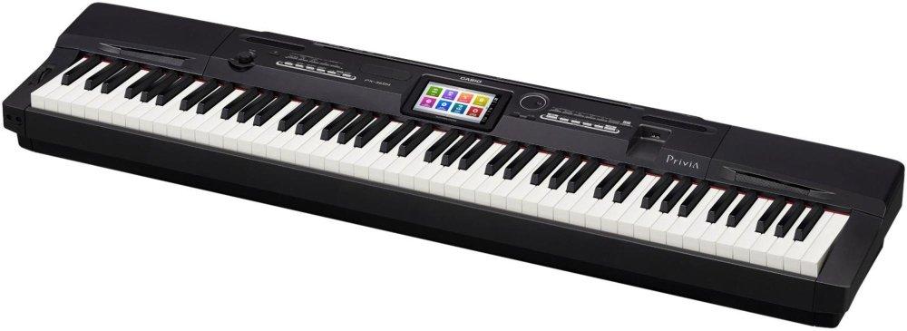 Casio PX-360BK 88-Key Digital Piano with Power Supply by Casio (Image #2)