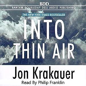 Into Thin Air Hörbuch