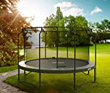 Acon Air 4.3 Trampoline 14ft with Premium Enclosure   Includes 14ft Round Trampoline and Premium Safety Net   96 Heavy Duty 8.5in Springs