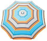Rio Brands More Than A Stripe Bright Stripe Beach Umbrella...