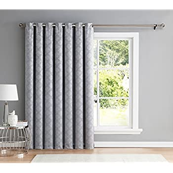 Rhf Wide Thermal Blackout Patio Door Curtain