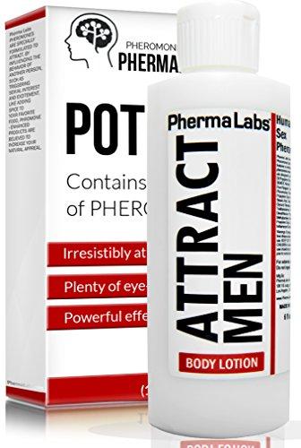PhermaLabs attirer instantanément lotion pour le corps les phéromones hommes pour femmes-6 fl oz - à plus forte Concentration de phéromones Possible-augmentation de Sex Drive - frais & durables odeur