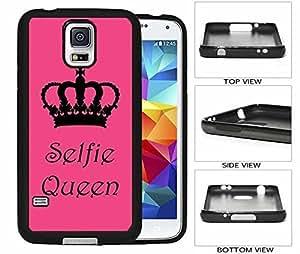 Selfie Queen Print Galaxy S5 Hard (PC) Back Case