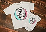 Grateful Dead Baby Bodysuit Dead Head like Mom or Dad Steal Your Face Baby