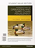 Introduction to Operations and Supply Chain Management, Student Value Edition Plus MyOMLab with Pearson eText -- Access Card Package (4th Edition) by Cecil B. Bozarth (2015-01-08)