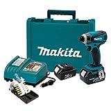 Makita LXDT04X1 18V Li-on Impact Driver Kit w/Impact Gold Bit Set