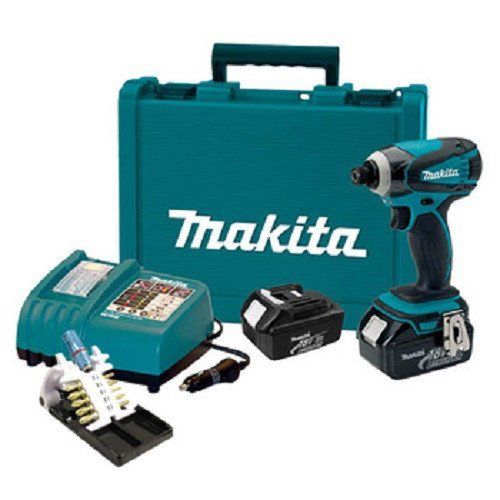 Makita LXDT04X1 18V Li-on Impact Driver Kit w Impact Gold Bit Set