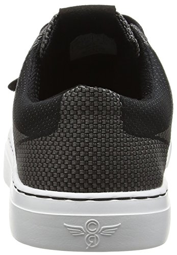 Creative Recreation Men's Cesario Lo Woven Fashion Sneaker Black Pewter wide range of online pay with visa for sale discount cheap price visa payment cheap price cheap sale official site RXYKJ7K7h
