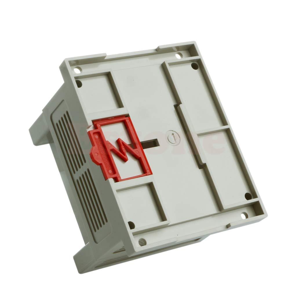JOYKK 115x90x72mm Plastic Shell Industrial Control Housing Box Project Case Beige