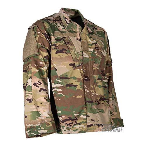 Army Combat Uniform ACU Military Shirt, Scorpion OCP Camo, Large-Regular