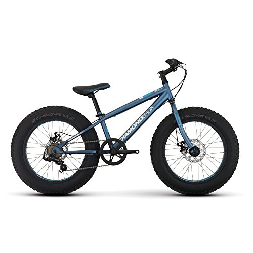 Diamondback Bicycles El Oso Nino Complete Youth Fat Bike, Satin Blue, One Size