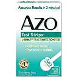 Azo Test Strips 3 Urinary Tract Infection Test Strips Fast & Easy