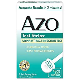AZO Test Strips 3 Each (Pack of 7)