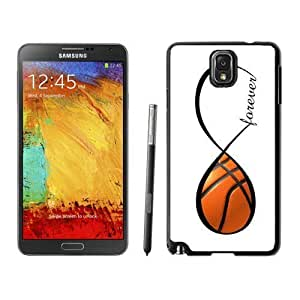 aqiloe diy Amazing Samsung Galaxy Note 3 Case Silicone Black Phone Back Cover Basketball Forever Basketball Infinity Forever
