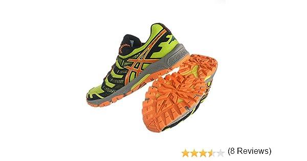 Asics Running Gel-FujiAttack 3, Zapatillas Hombre, Amarillo/Negro/Naranja/Gris, 46 EU: Amazon.es: Zapatos y complementos