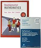Developmental Mathematics: Prealgebra, Beginning, Intermediate Algebra, Loose-Leaf Version Plus MyLab Math -- Access Card Package
