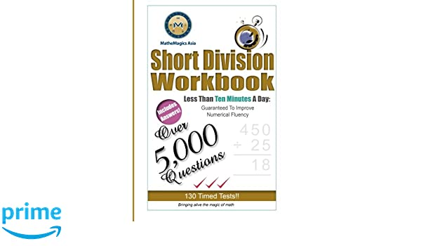 Short Division Workbook: Rajdeep Ghai, Leo Leong: 9781497467910 ...