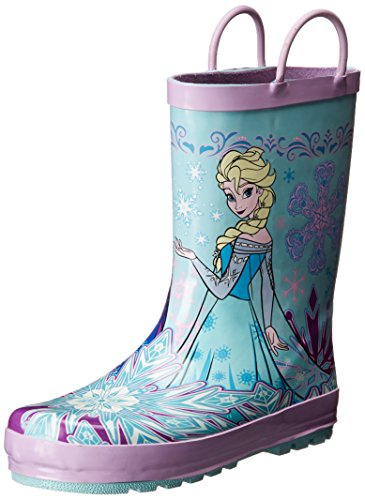 [Western Chief Girls Printed Rain Boot, Frozen Sisterhood, 9 M US Toddler] (Frozen Outfit For Toddlers)