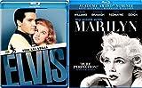Elvis Vs Marilyn - Viva Lsa Vegas & My Week With Marilyn Blu Ray Star Set
