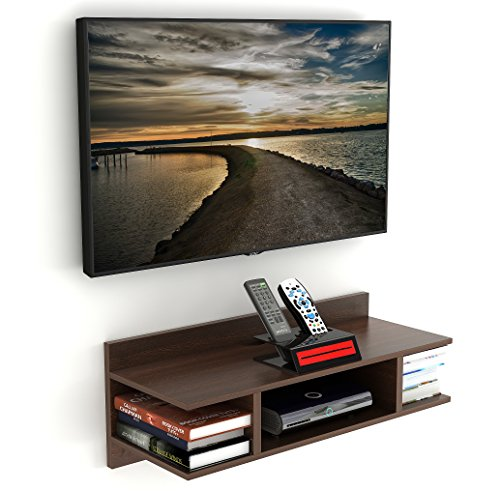 Wudville Coober TV Entertainment Unit Table/Set Top Box Stand (Standard – Wenge)