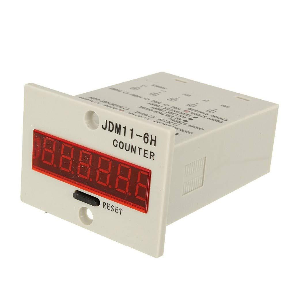 100-240VAC 6 Digital LED Counter+Photoelectric Sensor+Reflector Conveyor Belting