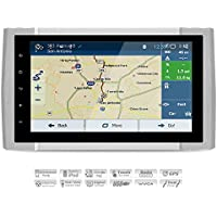 AIMTOM 2014-2018 Toyota Tundra In-dash GPS Android Navigation, 9 IPS Touch Screen Bluetooth Stereo Navi with WIFI Multimedia Player AV Receiver A2DP FM AM Radio Infotainment System
