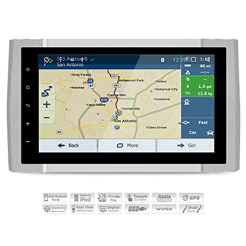 AIMTOM 2014-2018 Toyota Tundra In-dash GPS Android Navigation, 9