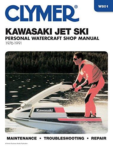 Clymer Kawasaki Jet Ski Personal Watercraft Shop Manual, 1976-1991: Maintenance, Troubleshooting, Repair (Clymer Personal Watercraft)