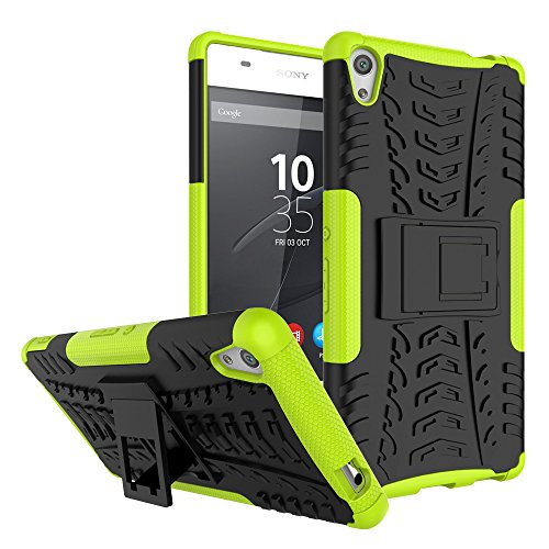 3021823a7ea1 Aeropost.com Turks   Caicos - Sony Xperia XA Ultra Case Nicelin Hard PC  Material Cover and Silicone Inner Holder 2 in 1 Stand Case for Sony Xperia  XA Ultra ...