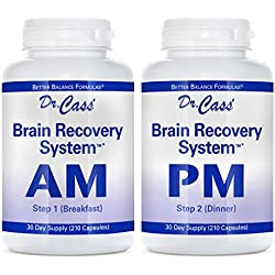 Dr. Hyla Cass, MD, Brain Recovery System AM/PM: Advanced Multivitamin, Multimineral, Herb and Amino Acid Formula for Healthy Body and Mind