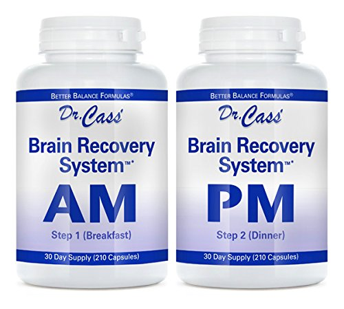 - Dr. Hyla Cass, MD, Brain Recovery System AM/PM: Advanced Multivitamin, Multimineral, Herb and Amino Acid Formula for Healthy Body and Mind