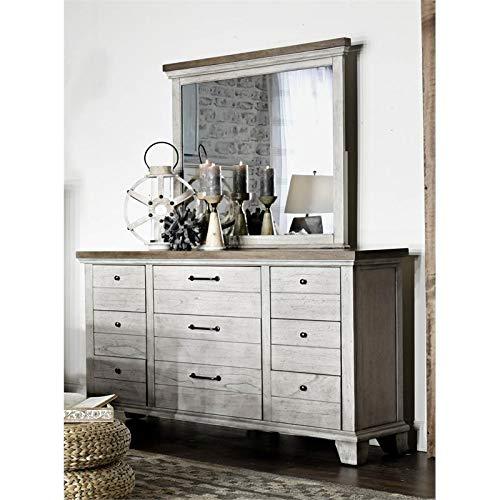 Amazon.com: Steve Silver Bear Creek Nine Drawer Dresser ...