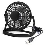 TRIXES USB Desktop Mini Fan, Portable & Quiet Cooling for Computer Laptop PC