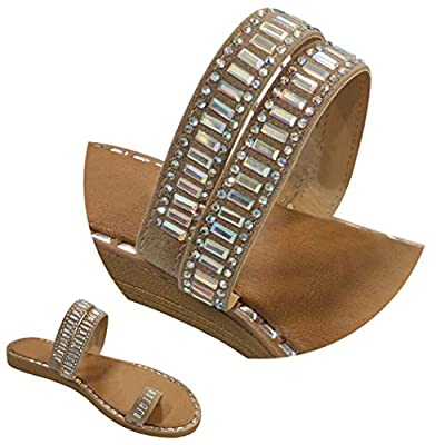 Summer Special Sale Unique Toe Ring Roman Gladiator Sandals for Women (Assorted Colors)