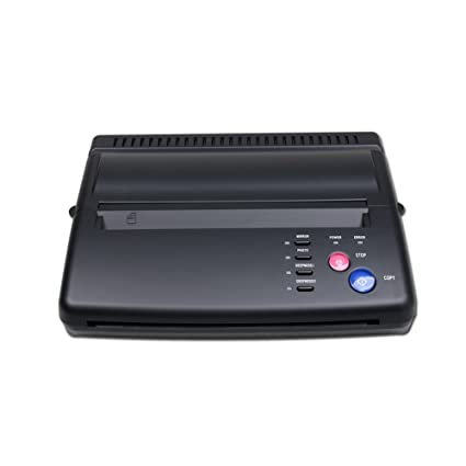 Black Tattoo Transfer Stencil Machine Thermal Copier Printer Machine ZY003