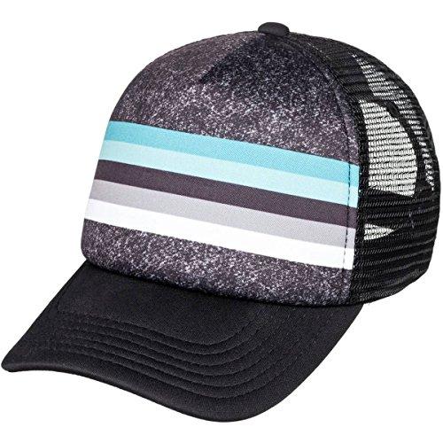 Quiksilver Big Boys' Seasons Youth Trucker Hat, Black/Black, 1SZ by Quiksilver