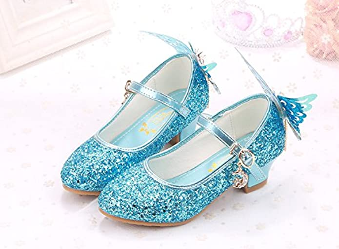 cute blue shoes for flower girls