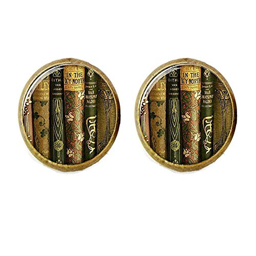 Library Book Earrings, Book Earrings,Book Jewelry,Gift for Teacher,Teacher
