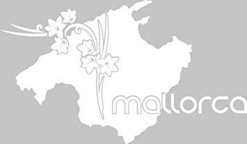 Mallorca Karte Umriss.Grazdesign 630298 40 010 Wandtattoo Wohnzimmer Sticker
