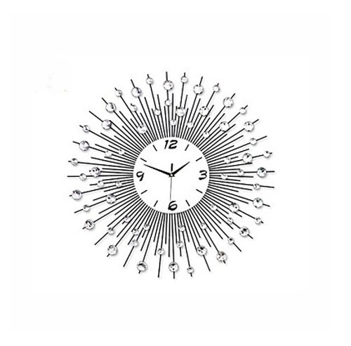 Wall Clocks Large Decorative Metal Modern Style Metal Mute Wall Clock, Wall Clock Decorative Living Room (3) by Wall Clocks (Image #1)