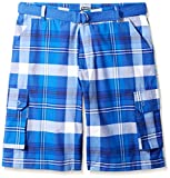 Ecko Unlimited Men's Big and Tall Thrd Plaid Cargo Short