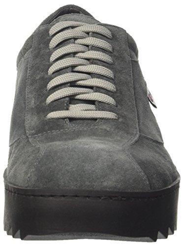 Suede A Uomo Vripple Grey Grigio sole Alto Collo Wrapper Sneaker Walsh wtPqvYY