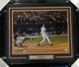 Cal Ripken Jr. Signed Framed 16 x 20 Photo Baltimore Orioles Last Career At Bat - PSA/DNA Authentication - Autographed MLB Photos